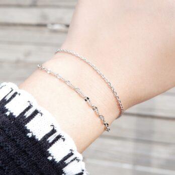 S925-Simple Double Layer Bracelet