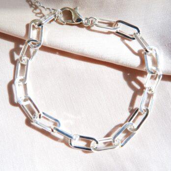 縷空方塊鏈扣鎖鏈手鍊
