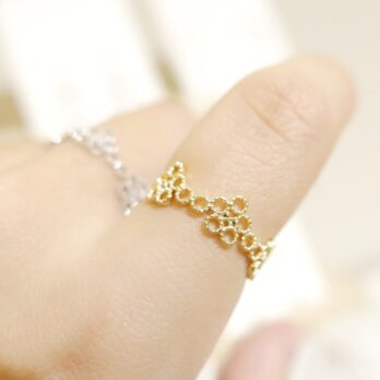 Free Size Flower Ring