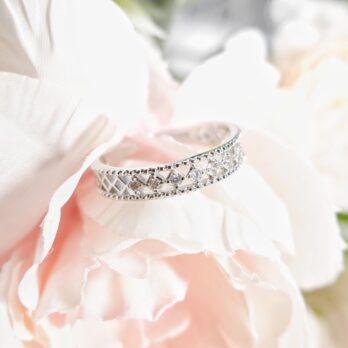 復古蕾絲開口戒指