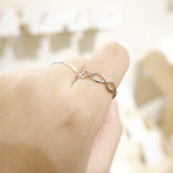 交織纏繞開口戒指