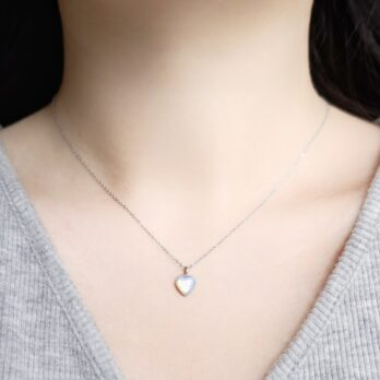 Preorder-Stainless Stain Opal Necklace