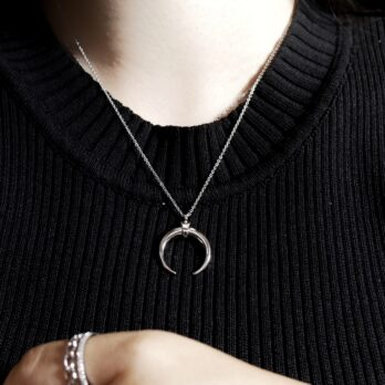 Mystical Crescent moon Necklace