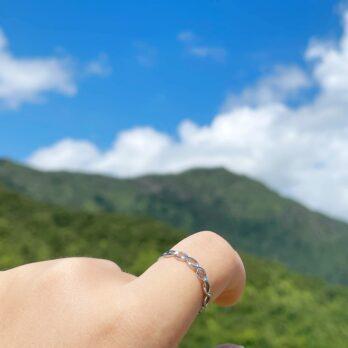 圓形圈圈戒指•Free Size Ring