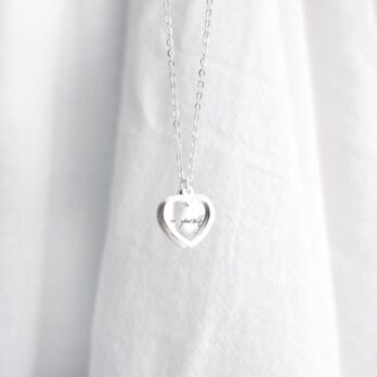 Stainless stain Self Love Heart Necklace