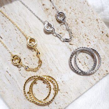 Triple Layers Ring|三層交織戒指