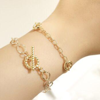 Minimalist Circle Bracelet