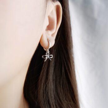 蝴蝶結•Hoop Earring